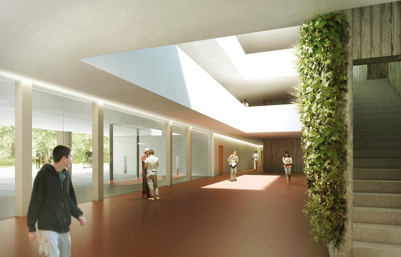 naturwissenschaften und umgebung kantonale schulanlage strandboden biel 1 preis 2011. Black Bedroom Furniture Sets. Home Design Ideas