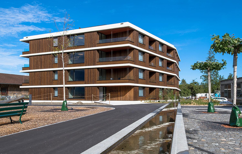 Fertigstellung Seniorenwohnungen Burgergut   Haus Maigold   Brügger  Architekten AG